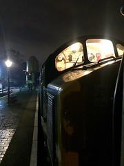 40106 SVR (Flikrman Gaz) Tags: cfps class40 svr severnvalleyrailway night light 40106 brgreen