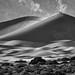 Side-lit Dunes in Death Valley