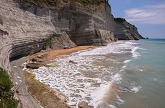 Peroulades. Corfu (Сергей Рсавин) Tags: landscape coast cliff mountain rocks sea beauty journey greece corfu travel peroulades