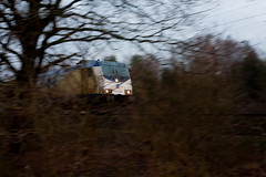 Break Out (Pletet) Tags: train woods moving railroads metronom niedersachsen lower saxony germany lüneburger heide heath luneburg nordheide hamburg bremen canon eos 5d classic mark 1 i l | inc 52 50mm ef lens 118 f18 2 ii ll || national