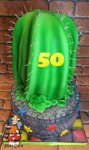 atop cactus