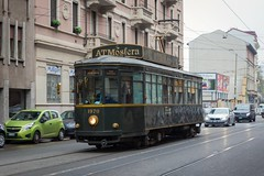 MILANO, VIA PROCACCINI (Luigi_1964) Tags: milano milan italy tram tramway atmosfera trolley cityscape urban oldstyle trasportopubblico