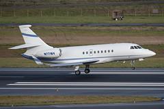 Dassault Falcon 2000EX (zfwaviation) Tags: kpdx pdx portland international airport oregon or parking garage airplane aircraft jet plane aviation airliner runways take off landing 10r 10l rain spotting d750 200500mm n771bv falcon 2000 f2th