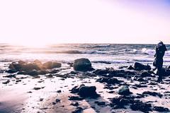 Lichtbildner (tonyhoertrauschen) Tags: sunrise sun beach travel winter people art national ostsse germany outside water nature light minimal landscape