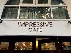 Impressive Cafe (cowyeow) Tags: hanoi vietnam asia asian funny street urban city sign funnysign oldhanoi impresive impressive cafe restaurant