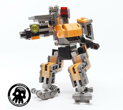 6-Solo Action (captainmutant) Tags: afol lego legospace legography photography sciencefiction scifi brickography toy overwatch blizzard
