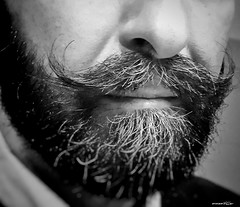 mustaches (Massimo Vitellino) Tags: mustaches humanface humanpart detail abstract contrast conceptual lights shadows hdr blackandwhite selfie portrait indoors personalperspective