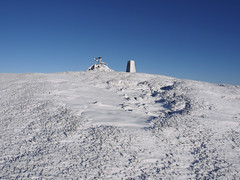 23_01_2019_0241 (andysuttonphotography) Tags: snowy trig point summit worm hill tweedsmuir southern uplands scotland scottish hills winter wintry snow cold freezing frozen triangulation pillar ordnance survey surveying top high temperature sunny blue sky bright white clear clean pristine outdoor outdoors ice icy frost frosty
