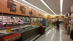 Back over towards lunch meat and dairy (Retail Retell) Tags: batesville ms kroger panola county retail 2012 bountiful décor formerly wannabe neon former food world