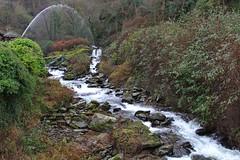 Glen Lyn Gorge - Lynmouth (JauntyJane) Tags: glenlyngorge lynmouth watersmeet lyntonlynmouth devon exmoor waterfall powerofwater hydro electricity