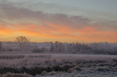 Dawn colour (Rich3012) Tags: winchester hampshire hants england uk sunrise dawn morning frosty cold winter