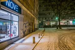 Opole (nightmareck) Tags: opole opolskie polska poland europa europe fotografianocna bezstatywu night handheld winter zima fujifilm fuji fujixe1 fujifilmxe1 xe1 apsc xtrans xmount mirrorless bezlusterkowiec xf18mm xf18mmf20r fujinon pancakelens