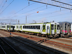 Local trains (しまむー) Tags: panasonic lumix dmcgx1 gx1 sigma art 19mm f28 dn round trip train