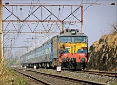 SNSI - LTT Diwali special train (Sriram.SN) Tags: express special trains india railways indainrailways wcam3 electric engine