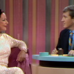 Hedy Lamarr with Host Merv Griffin,