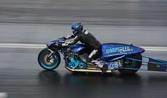 Funny bike_3694 (Fast an' Bulbous) Tags: bike biker moto motorcycle fast speed power acceleration drag strip race track outdoor nikon panning motorsport dragbike racebike santapod gimp d7100