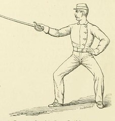This image is taken from Page 40 of A new system of sword exercise for infantry [electronic resource] (Medical Heritage Library, Inc.) Tags: gymnastics exercise martial arts military personnel wellcomelibrary ukmhl medicalheritagelibrary europeanlibraries date1876 idb20419569