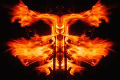 (@Parallaxus) Tags: arlington texas abstract art fire faces sony zeiss planart1450