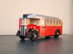 AEC Regal T - 1930 London Bus (ScotNick1) Tags: lego regal t class buss london great britain united kingdom steam 1930ies 30ies train bus car vehicle diesel engine uk transport suburbs aec associated equipment company