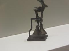 Bells,   CaixaForum, Madrid June 2018 (d.kevan) Tags: exhibitions caixaforum ancientinstruments displaycabinets june2018 madrid spain exhibits bells animals