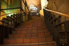 Stairs in the beerhouse (Jurek.P) Tags: barfüser beerhouse stairs norymberga nuremberg bavaria germany city jurekp sonya77