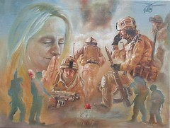 Did this one in 2010 and donated to charity to raise funds for #helpforheroes #leastweforget #100years #painting #art #oils #oilsoncanvas #soldiers #instagramartist #artist #instagramart #remembranceday (Tony Nero) Tags: artoftonynero tony nero art peterorough cambridgeshire creative out about craft paintings
