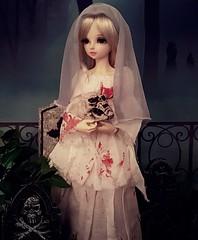 (claudine6677) Tags: bjd msd ball jointed doll asian dolls mnf minifee rin fairyland graveyard death bride