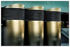 3 Rohre – 3 tubes (frodul) Tags: architektur ausenansicht detail gestaltung konstruktion kurve outdoor münchen groshadern campus bayern deutschland entlüftung rohr