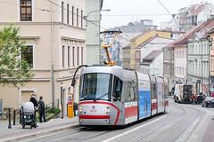BRN_1919_201811 (Tram Photos) Tags: skoda škoda 13t brno brünn strasenbahn tram tramway tramvaj tramwaj mhd šalina dopravnípodnikměstabrna dpmb