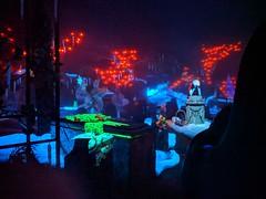 Sally in the Graveyard, Haunted Mansion,  Disneyland, Anaheim, California, USA (gruntzooki) Tags: disneyland anaheim orangecounty losangeles la ca dl disney california usa hauntedmansion hauntedmansionholiday