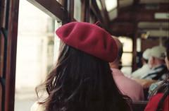 (martine.es) Tags: train travel portugal portra portra160 kodakportra kodak kodakfilm film filmphotography filmphoto filmneverdies filmcamera canonae canonae1 canon travelphotography 35mm 35analog 35mmanalog tram hat red
