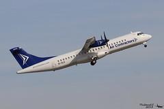 ATR 72 -202(F) AIR CONTRACTOR EI-SLG 183 Mulhouse mars 2018 (Thibaud.S.) Tags: atr 72 202f air contractor eislg 183 mulhouse mars 2018