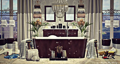 Majesty- Tranquil Bathing (Ebony (Owner Of Majesty)) Tags: hearthomes aphroditeshop aphroditeshopsl senseevent majesty majestysl majestyinteriors majesty2018 decor decorating interiordecor interiordecorating interiors interiordesign bathroom bath tub virtual virtualliving virtualservices virtualspaces secondlife sl onsu nutmeg {anc} digs merak sways garbaggio applefall soy mudhoney