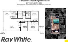 14 Elizabeth Crescent, Kingswood NSW