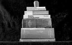 Le poids des mots (stagire) Tags: minolta minoltax500 rokkor rokkormc58mmpf14 ilford ilfordhp5 ilfosol3 hp5 film argentique analogique bw blanc noir noiretblanc epsonv550 epson v550 selfdeveloppement scanner