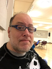 Day 2464: Day 274: Rehearsal (knoopie) Tags: 2018 october iphone picturemail theater rehearsal doug knoop knoopie me selfportrait 365days 365daysyear7 year7 365more day2464 day274