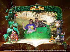 """Tracey and Scott on the Fairy Tale Brook Attraction • <a style=""""font-size:0.8em;"""" href=""""http://www.flickr.com/photos/28558260@N04/45588434894/"""" target=""""_blank"""">View on Flickr</a>"""
