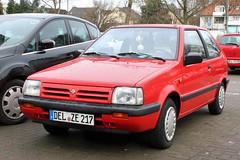 Micra (Schwanzus_Longus) Tags: delmenhorst german germany asia asian japan japanese modern car vehicle hatchback nissan micra
