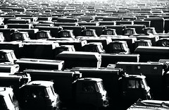 end of NVA (Drehscheibe) Tags: nva blackwhite analogica nikonf2 exddr explore ilfordhp5 hp5plus 35mm film militaryvehicle