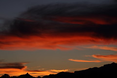 Sunset 12 23 18 #12 (Az Skies Photography) Tags: sunset sun set dusk twilight nightfall sky skyline skyscape cloud clouds red orange yellow gold golden salmon black december 23 2018 december232018 122318 12232018 rio rico arizona az rioricoaz arizonasky riorico arizonaskyline arizonaskyscape canon eos 80d canoneos80d canon80d eos80d