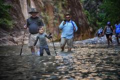 Utah_2018_set2_ (12 of 73) (jasinrodriguez) Tags: zion trekking family narrows subway zionnationalpark nationalparks outdoors