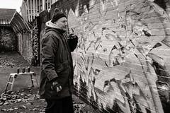 Street Artist Tizer (raymorgan4) Tags: tizer street art spray paint urban artist wall