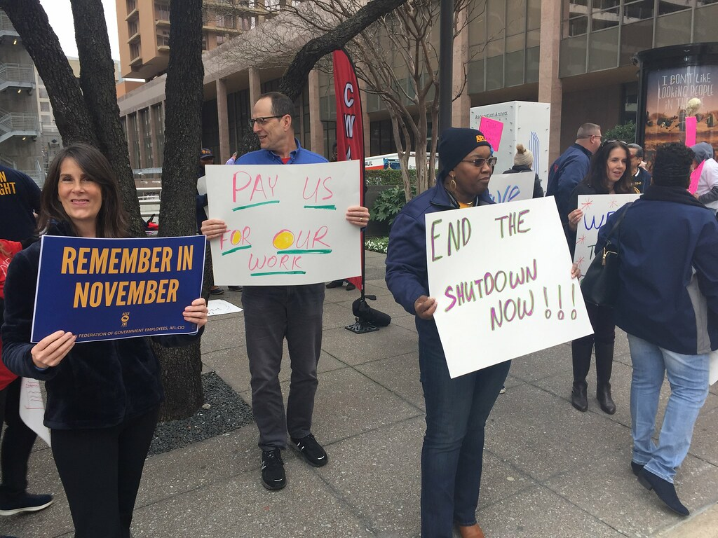 Union Activists Rally in Dallas to End t by AFGE, on Flickr