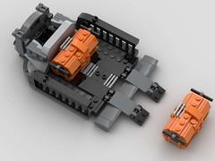 SW Imperial Cargo Speeder #5 (CommanderJonny1) Tags: starwars speeder lego