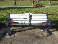 Respect (7 of 9) (goweravig) Tags: seat respect 19141918 ww1 swansea brynmill wales uk promenade foreshore armistice