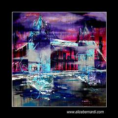 LONDON CALLING (Alice Bernardi Art) Tags: art painting abstract city urban style london londoncalling
