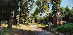 Horse on the old Appia (Luc1659) Tags: horse appia roma italy strada road antichità walk