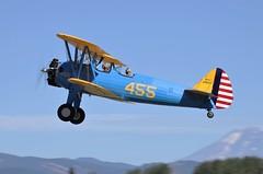 1941 Stearman/Boeing PT-17 Kadet S/n 75-693 N3932F (GEM097) Tags: airplane aircraft biplane waaam2018flyin hoodriver stearman boeingpt17kadet n3932f