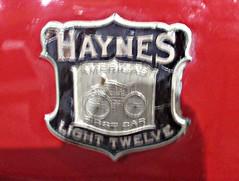 107 Haynes Automobiles Badge - History (robertknight16) Tags: haynes american usa badge badges emblem automobilia apperson haynesapperson vetran kokomo stellite cleomaddison gottschalk pornographic 1stporno