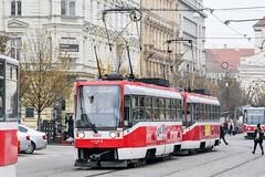 BRN_1669_201811 (Tram Photos) Tags: ckd t3rf brno brünn strasenbahn tram tramway tramvaj tramwaj mhd šalina dopravnípodnikměstabrna dpmb tatra
